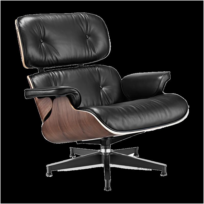 fauteuil lounge inspir par charles eames voga. Black Bedroom Furniture Sets. Home Design Ideas
