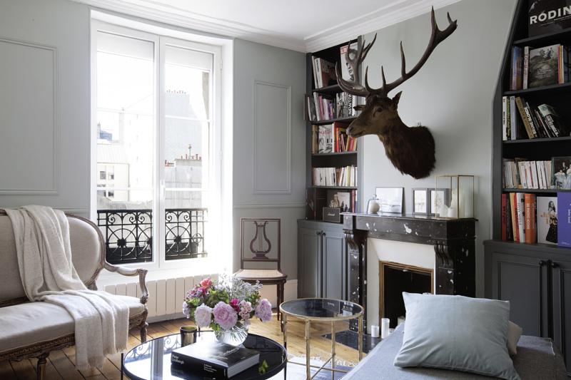 classique chic et masculin. Black Bedroom Furniture Sets. Home Design Ideas