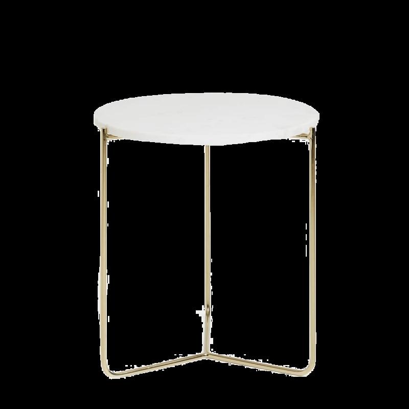 table d 39 appoint dor e plateau marbre sloft magazine. Black Bedroom Furniture Sets. Home Design Ideas